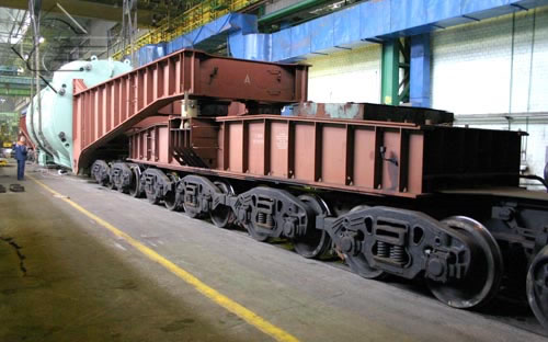 Вагон транспортер 32 осный производим конвейер ленточный передвижной